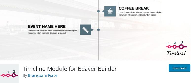 Timeline_Module_for_Beaver_Builder, timeline plugin, timeline plugins