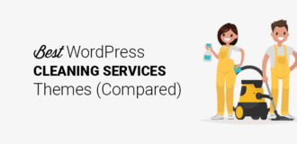 Best Cleaning Services WordPress Themes