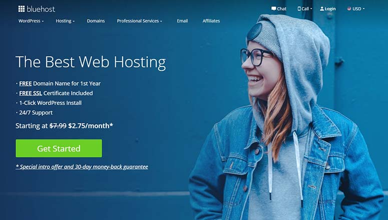Bluehost, how to create a multilingual website