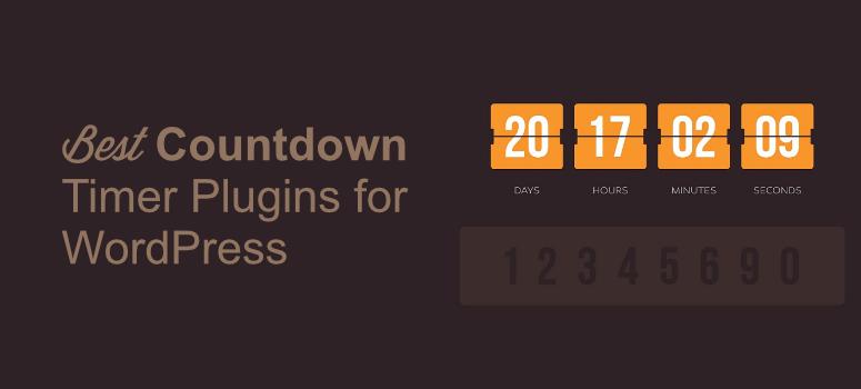 countdown timer plugins