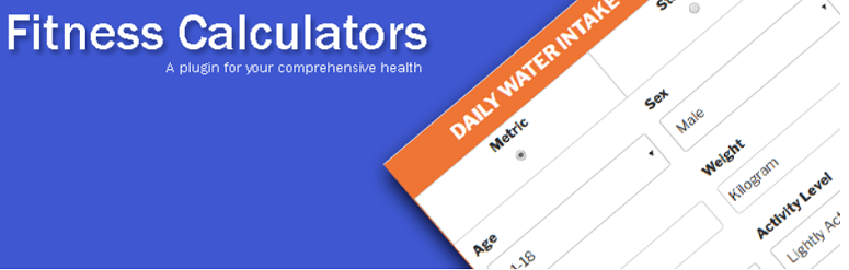 fitness-calculators, calculator plugins