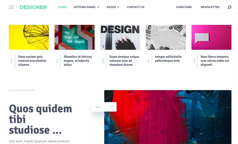 Designer Theme MyThemeShop