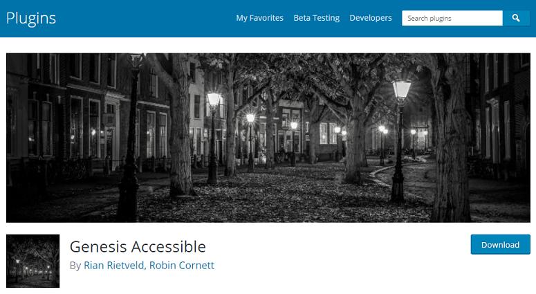 Genesis-Accessible