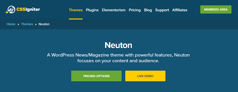 Neuton news theme