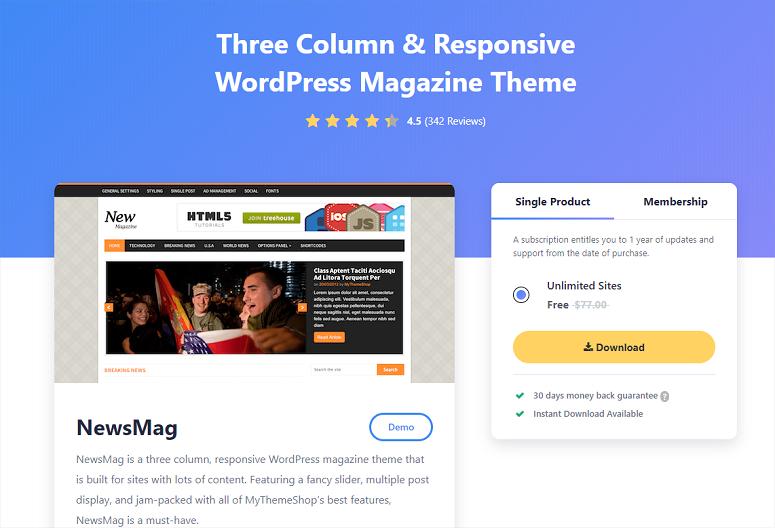 Newsmag, news themes