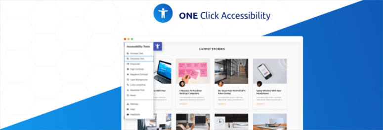 One-Click-Accessibility