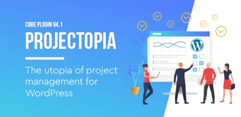 Projectopia, project management plugins