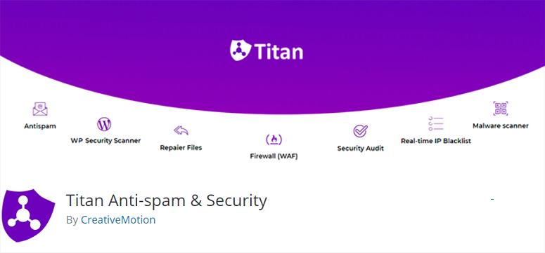 Titan Anti-spam Security