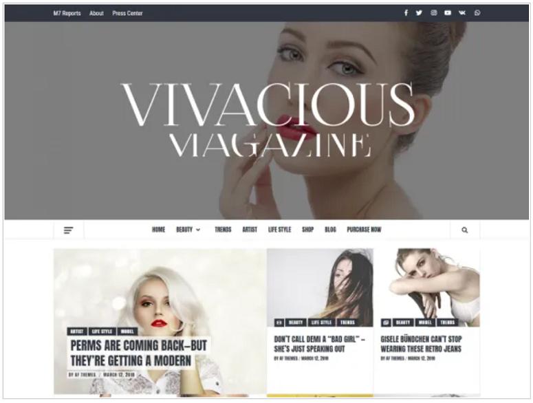 Vivacious Magazine