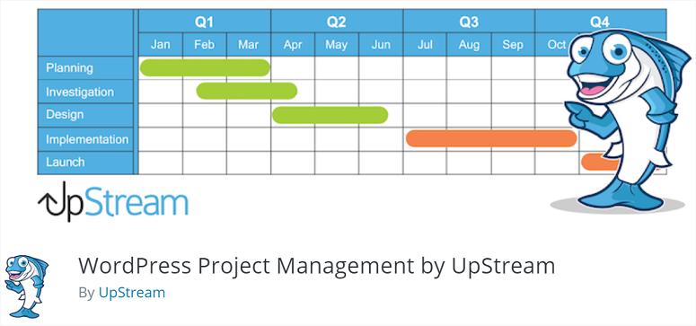 UpStream, project management plugins