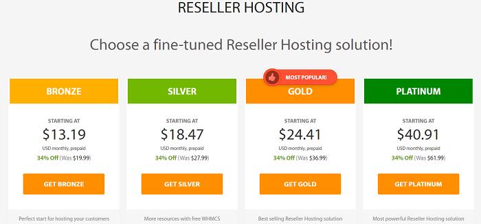 A2 Hosting Reseller Hosting