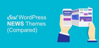 best wordpress news themes compared