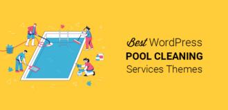 Best Pool Services WordPress Themes