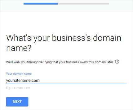 enter-business-domain-name