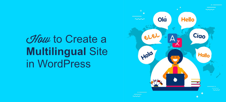 how to create a multilingual website, create a multilingual website