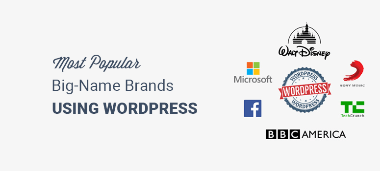 Most Popular Brands Using WordPress