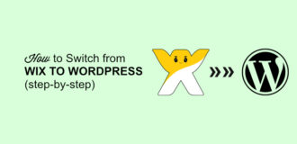 switch from wix to wp