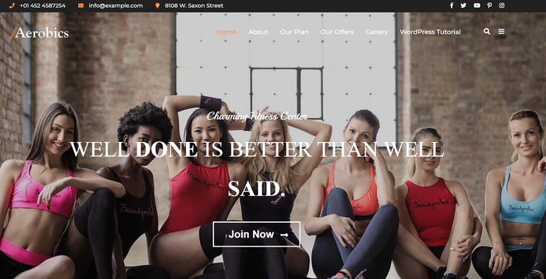 Aerobics, freelancers theme
