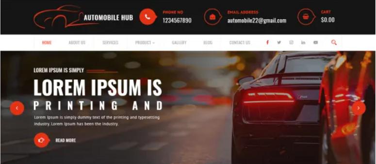 Automobile-Hub