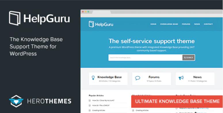 HelpGuru, wiki themes