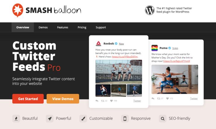 Smash Balloon Custom Twitter Feed