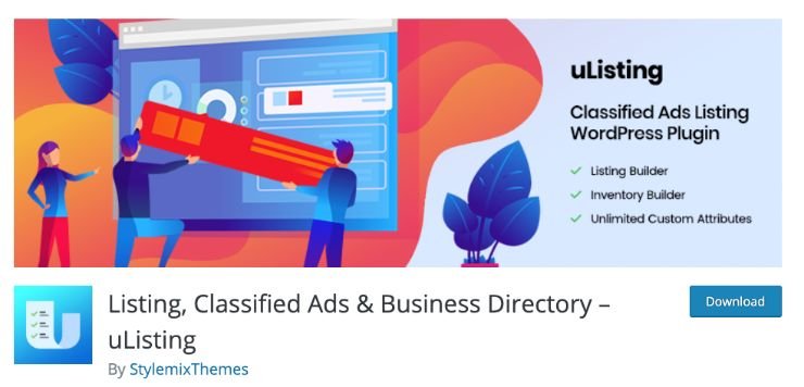 best classified plugin for wordpress by uListing
