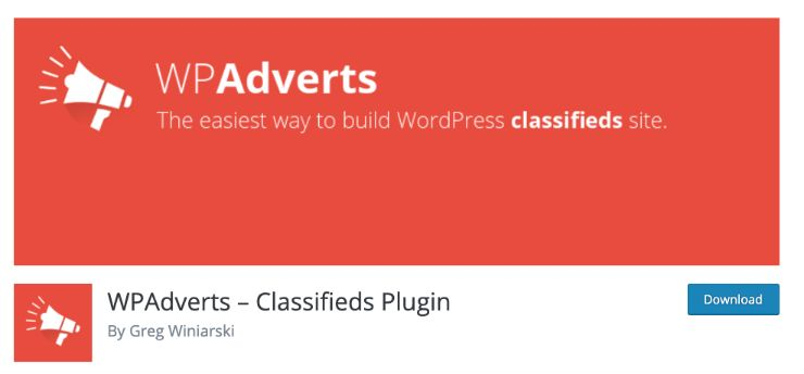 best classified plugin for wordpress by wpadverts