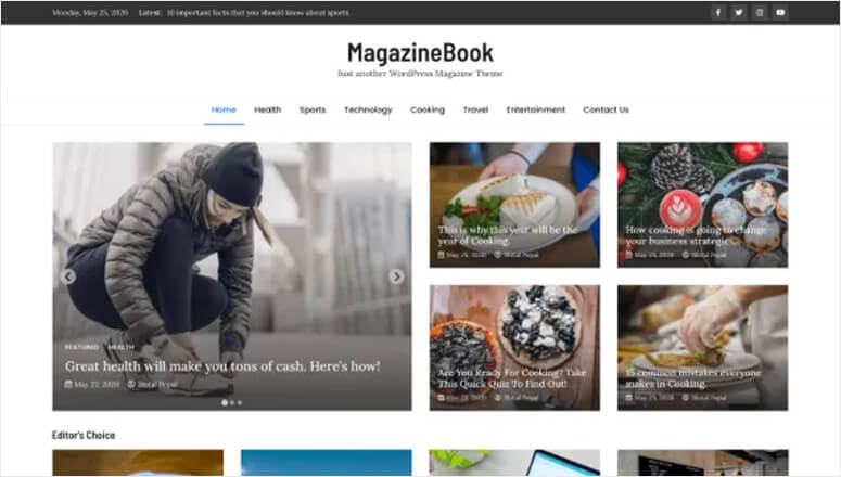 MagazineBook