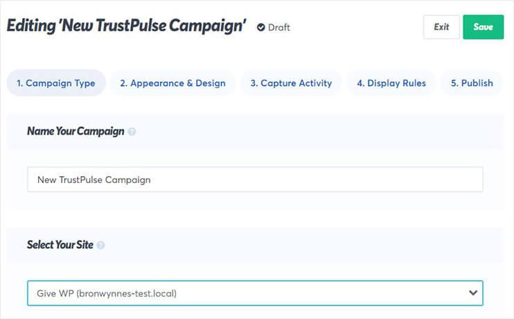 name trustpulse campaign_
