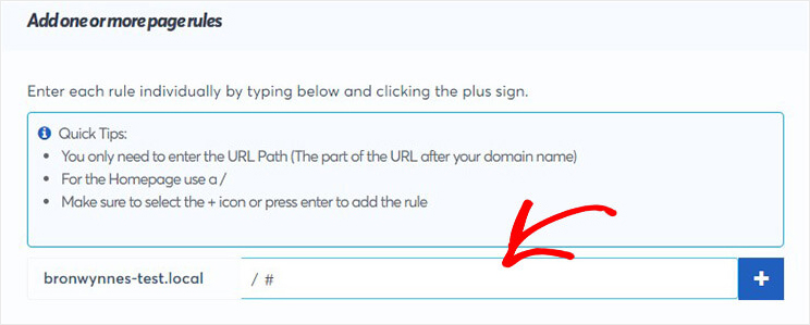 url page rules_