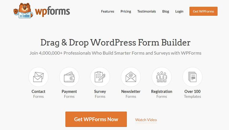 WPForms WordPress Forms Plugin