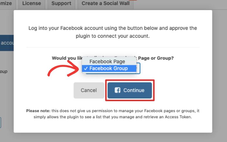 facebook group smash balloon