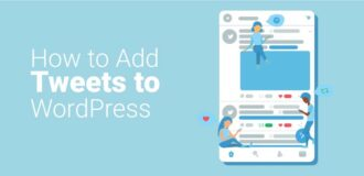 how to add tweets to wordpress
