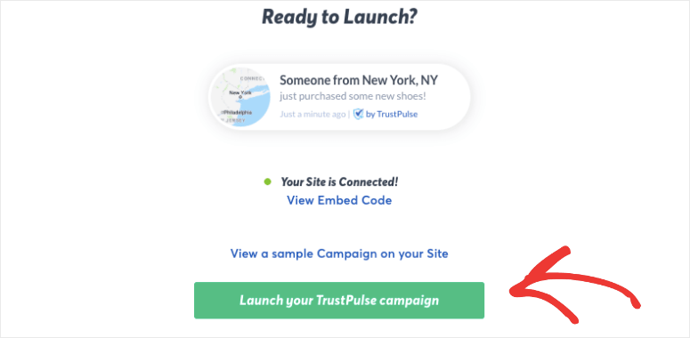 launch the trustpulse campaign