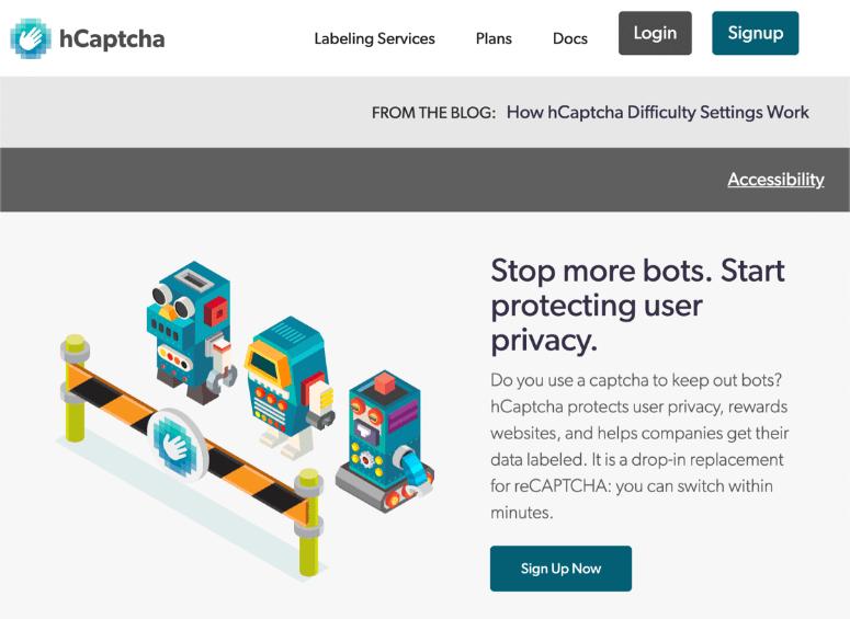 hcaptcha-homepage