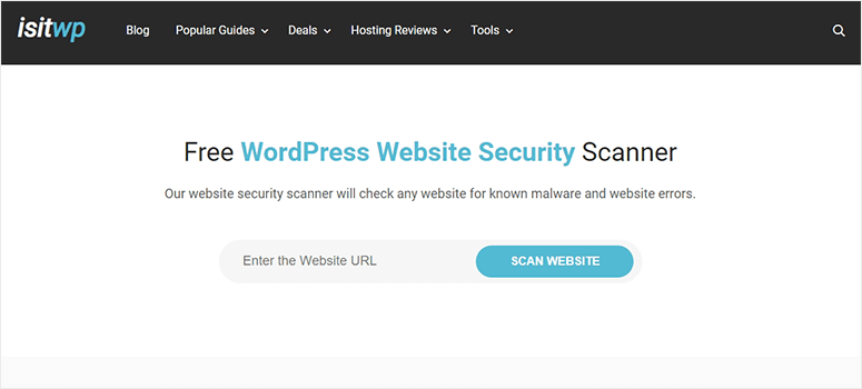 IsItWP WordPress Security Scanner