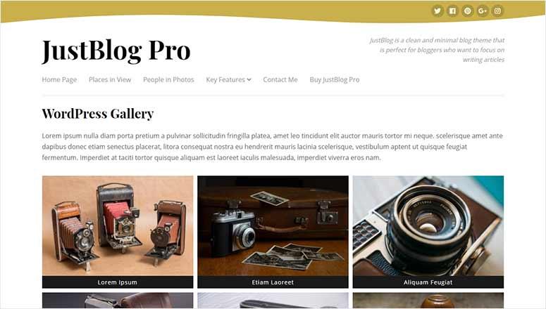 JustBlog Pro