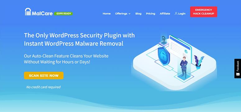 MalCare WordPress malware removal plugin
