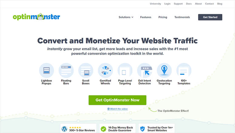 OptinMonster Lead Generation Tool