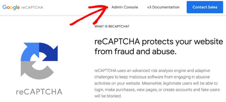 recaptcha-admin-console