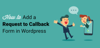 request to callback form
