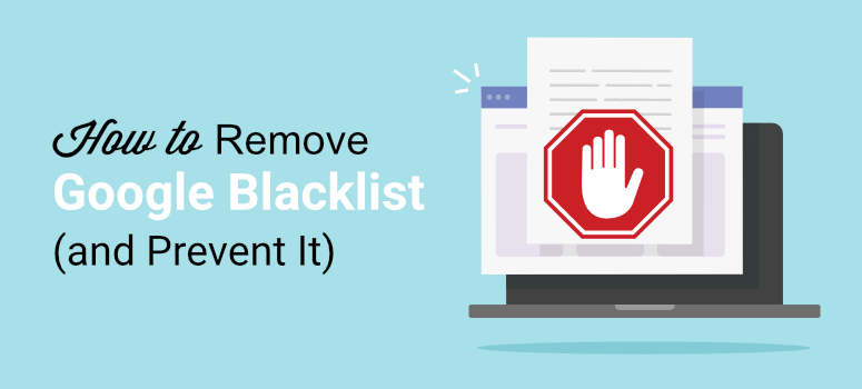 How to remove domain from Google blacklist