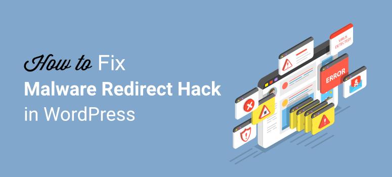 Redirect hack in WordPress