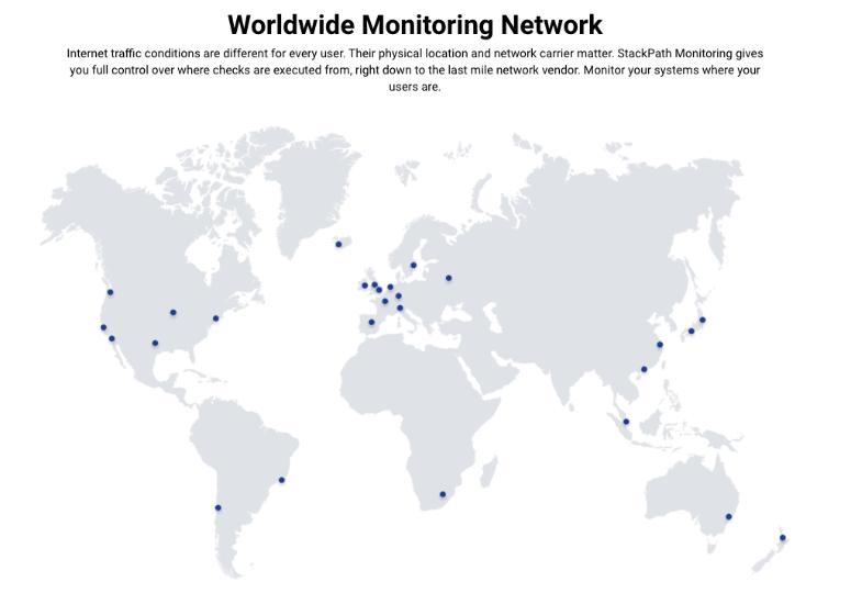 StackPath worldwide network