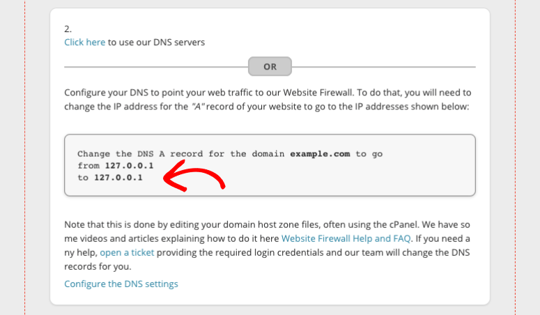 sucuri dns ip addresses