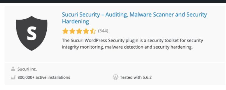 Sucuri in WordPress org