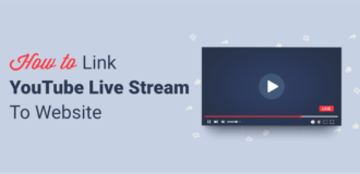How to link YouTube Live Stream
