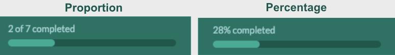 WPForms progress bar