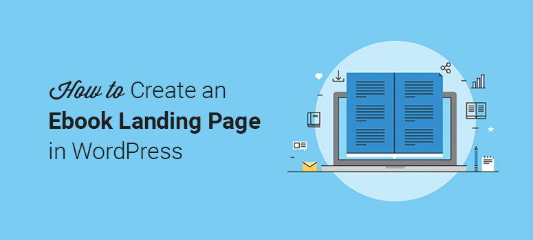 How to create an ebook landing page in WordPress