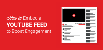 How to embed a YouTube feed in WordPress